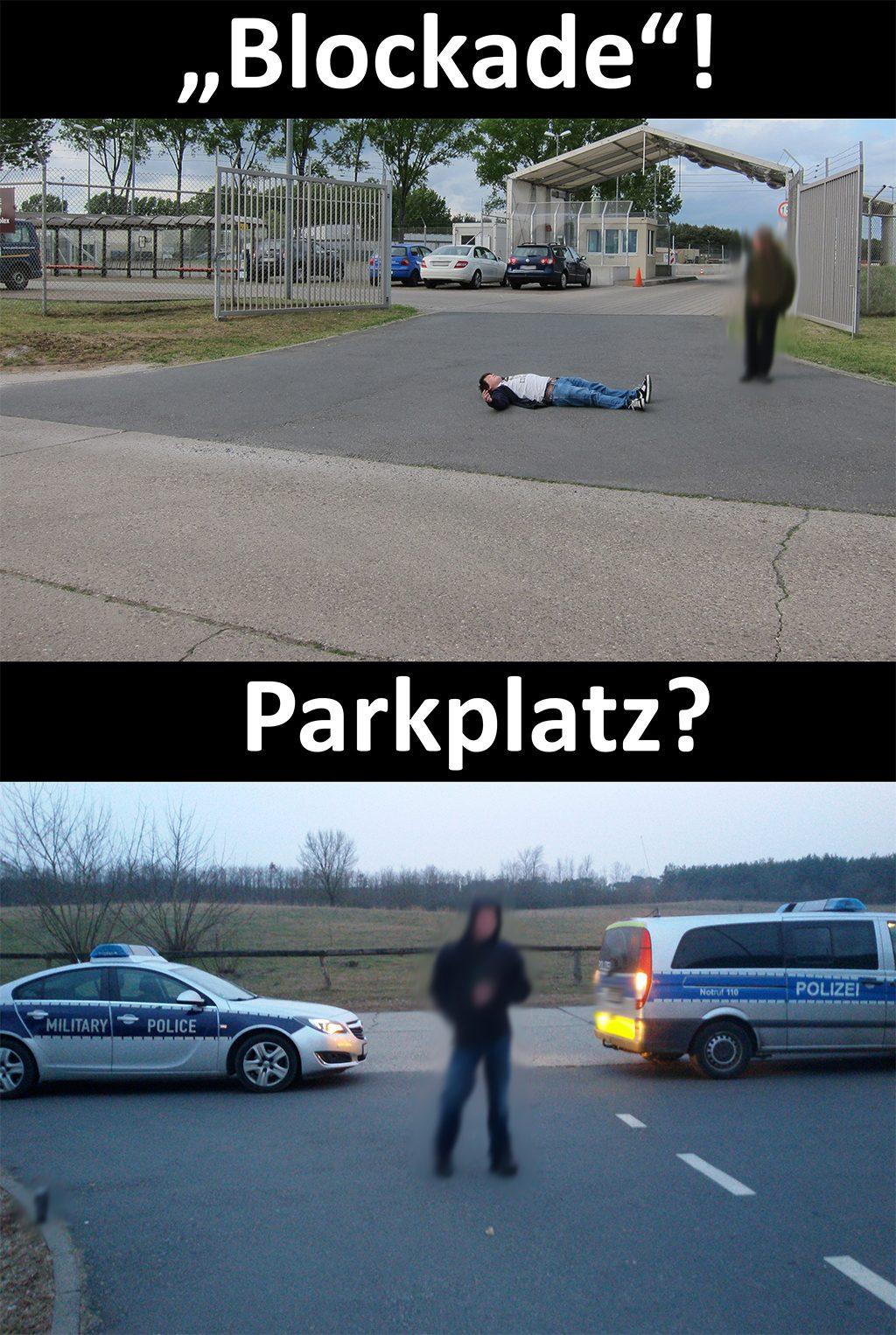 blockade-parkplatz
